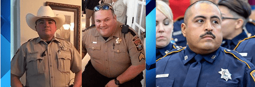 Three Texas Deputies Lost