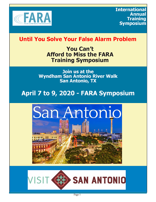 Packet Now Available for the 2020 FARA Symposium
