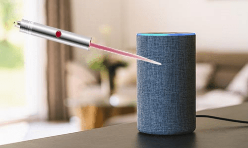 Researchers Find Smart Speakers Can Be Hacked With The Aid of a Laser Pointer