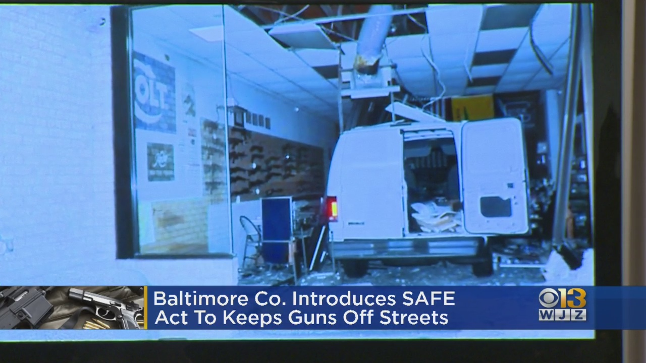 Baltimore County Announces SAFE Act To Stop Burglaries In …