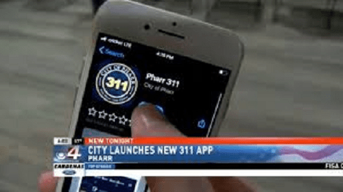 City of Pharr launches new 311 app for citizens