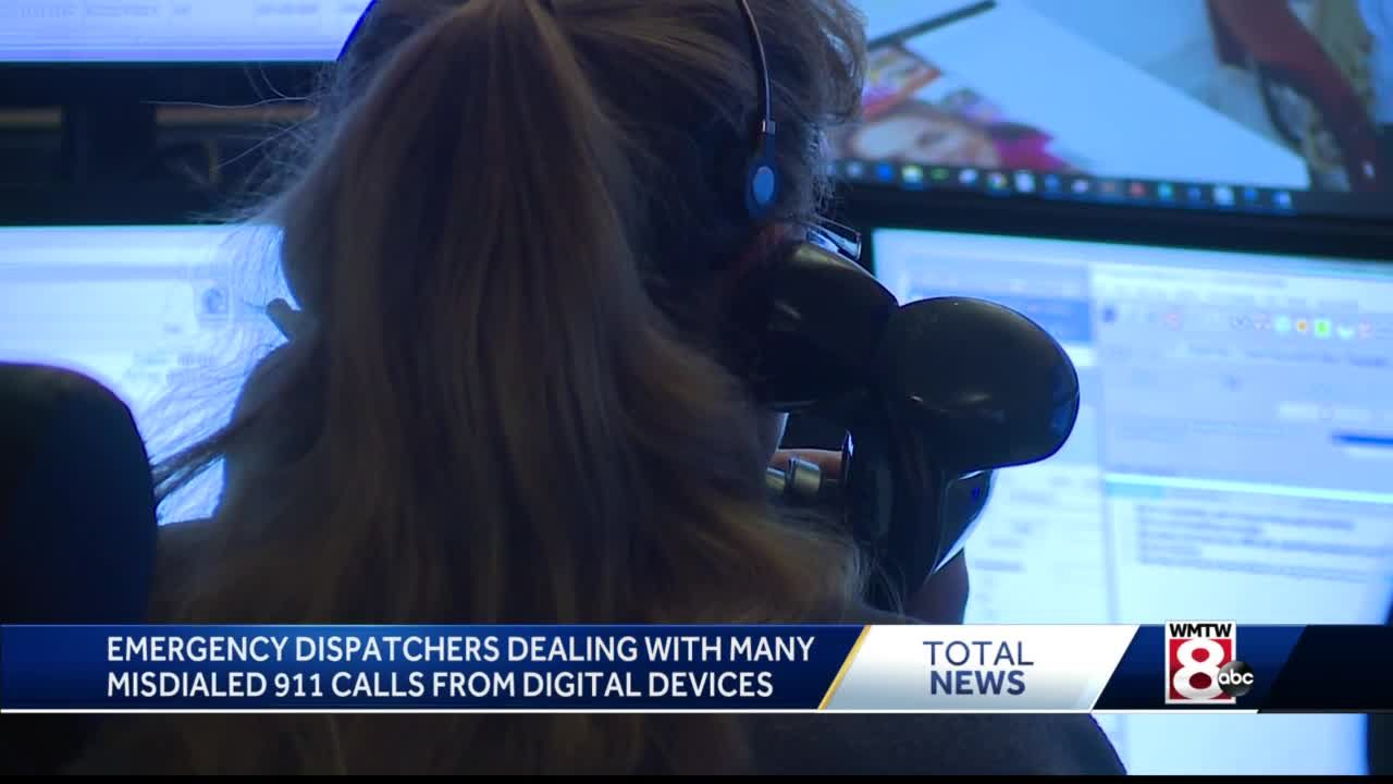 Emergency dispatchers dealing with many mistake 911 calls