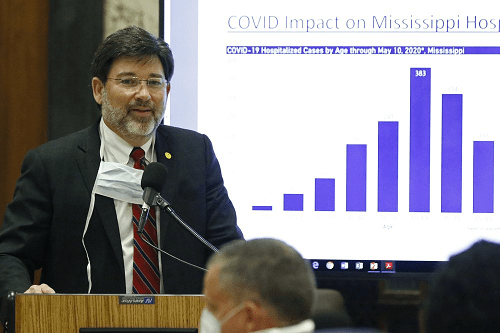 Mississippi gov tightens virus rules in 7 hard-hit counties