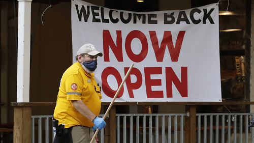 As more Texas businesses open, health experts watch and wait
