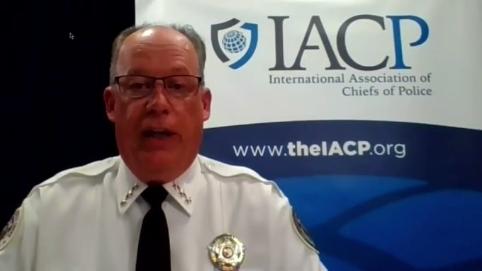 'Can't have both sides of that coin': IACP president for more training, not defunding
