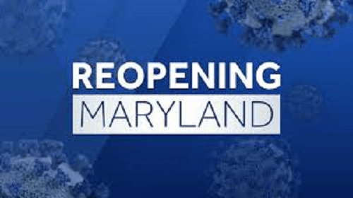 Most Maryland Counties Move To Stage Two Reopening Friday