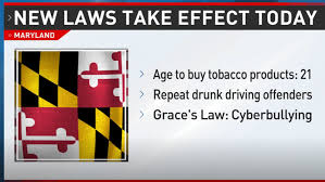 New Maryland laws take effect Wednesday