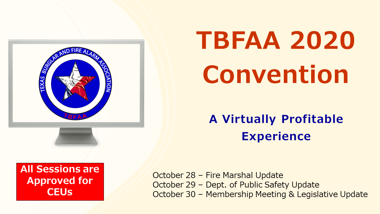 TBFAA Convention Sessions Available for CEU Credit