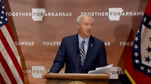 Arkansas Governor Hutchinson discouraged by another …