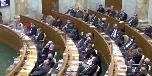 Arkansas' 93rd General Assembly begins; new senate president sworn in