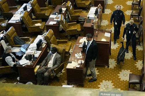 Work patterns altered at Mississippi Capitol during pandemic