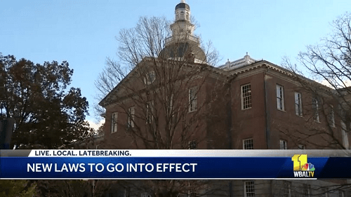 New laws take effect Friday in Maryland