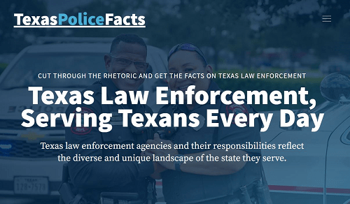 Texas police group launches campaign ahead of likely contentious legislative session