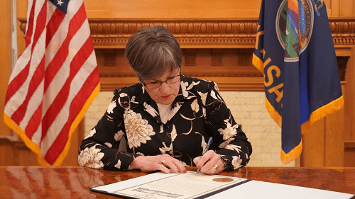 Gov. Kelly signs legislation that made its way to her desk