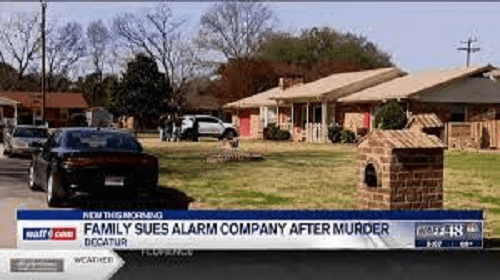 Estate of Decatur man shot, killed sues security alarm company