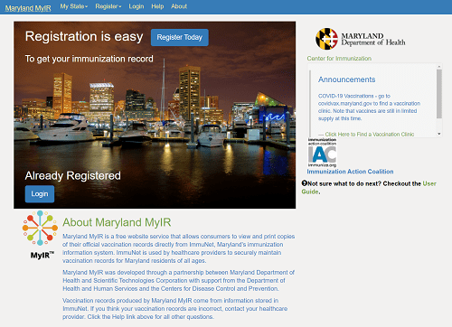You Can Now Access Your COVID-19 Vaccination Records Online In Maryland