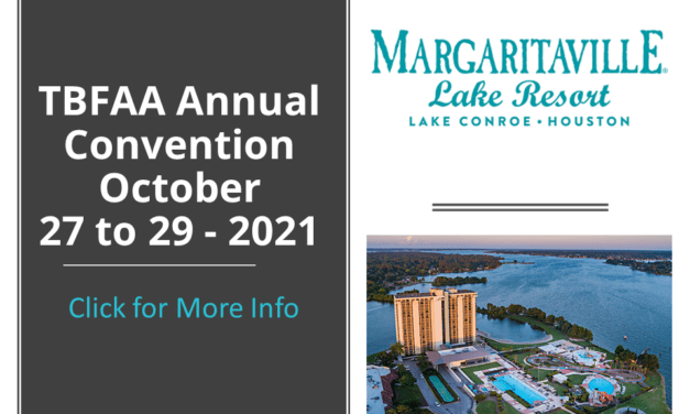 TBFAA Annual Convention 10-27 to 29