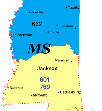10-digit dialing coming to 662 area code in Mississippi