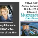 Mary Edmonson Named TBFAA 2021 Person of the Year!