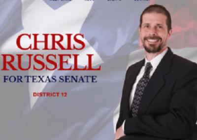 Carrollton Business Leader, Chris Russell, Announces Run for Texas Senate District-12